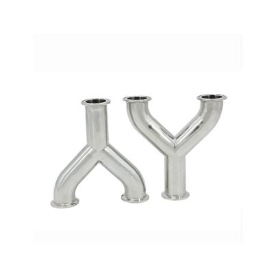 Stainless Steel Sanitary Tc Tri-Clamp Y Tee