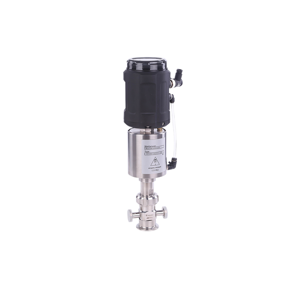 Hygienic Stainless Steel Micro Flow Control Valve