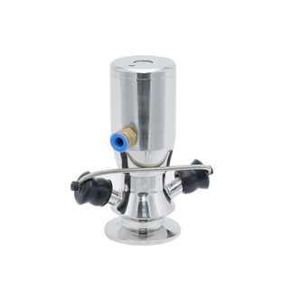 "3/4"" Automatic Return Type Sanitation Aseptic Pneumatic Sample Valve"