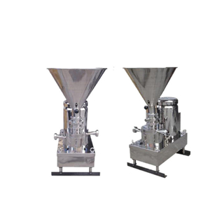 Sanitary Stainless Steel Vertical Mixing Blender Pump with Manual Handle