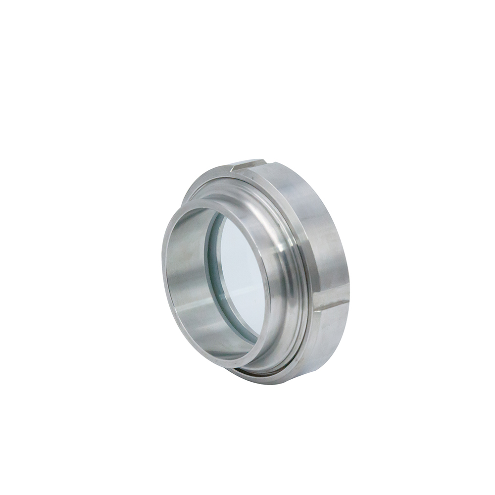 Stainless Steel LED Flashlight Style Union Lamp Sight GlassStainless Steel Sanitay Union Type View Sight Glass