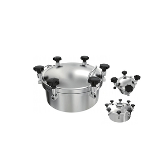 Stainless Steel Round Pressure Manways Hatches